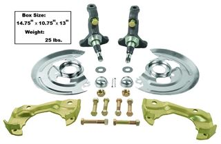 Picture of SPINDLE KIT W/DISC BRAKE HARDWARE : 1003C EL CAMINO 64-72