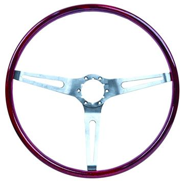 Picture of STEERING WHEEL ROSEWOOD (SIMULATED) : 3960722 EL CAMINO 69-69