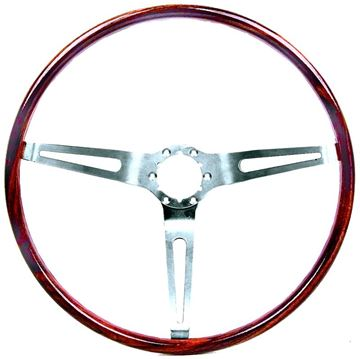 Picture of STEERING WHEEL WALNUT (SIMULATED) : 9746195 EL CAMINO 67-68