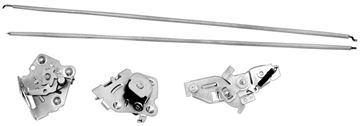 Picture of TAILGATE LATCH SET 68-72 EL CAMINO : 1429A EL CAMINO 68-72