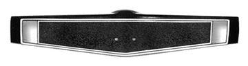 Picture of WHEEL CENTER SHROUD BLACK 69-70 : 3939760 EL CAMINO 69-70