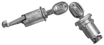 Picture of LOCK KITS TRUNK & GLOVEBOX : 122 FIREBIRD 67-68