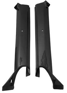 Picture of MOLDING PILLAR POST 67 CONVT. BLACK : K903 FIREBIRD 67-67