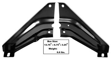 Picture of RADIATOR SUPPORT TO FENDER BRACKET : 1047ZA FIREBIRD 69-69