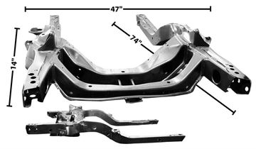 Picture of SUBFRAME 1969 CAMARO : 1000T FIREBIRD 69-69
