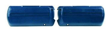 Picture of ARM REST BASE DARK BLUE PAIR 68-69 : M1040F GTO 68-72
