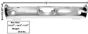 Picture of BUMPER REAR 66 : 1571B GTO 66-66