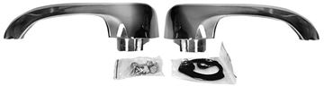 Picture of DOOR HANDLE OUTSIDE PAIR WO/BUTTON : M1390 GTO 64-67
