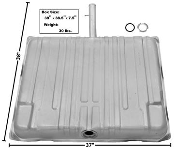 Picture of GAS TANK 1965-67 W/FILL NECK : T75 GTO 65-67