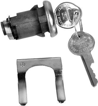 Picture of LOCK TRUNK ORIGINAL : 113A GTO 66-67