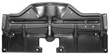 Picture of RADIATOR BRIDGE PLATE BLACK 1968 : 1509A GTO 68-68
