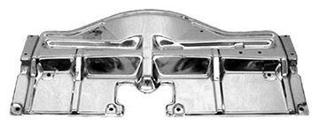 Picture of RADIATOR BRIDGE PLATE CHROME 1968 : 1509B GTO 68-68