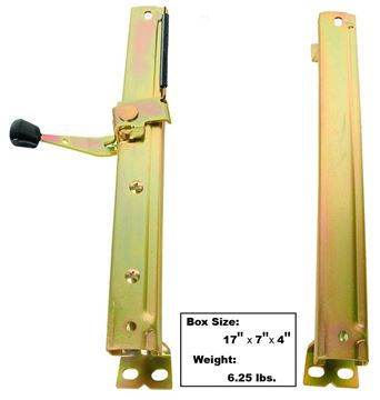 Picture of SEAT TRACK LH 68-72 2PC/SET : 1561 GTO 68-72