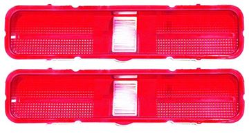 Picture of TAIL LAMP LENS 1969 PAIR : 1596 GTO 69-69