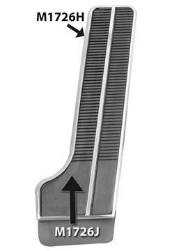 Picture of ACCELERATOR PEDAL 58-63 : M1726J IMPALA 58-63