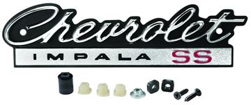 Picture of EMBLEM GRILLE Chevrolet IMPALA SS : EM1744 IMPALA 66-66