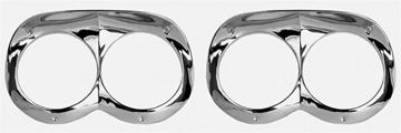 Picture of HEAD LAMP BEZEL 58 PAIR : M1718E IMPALA 58-58
