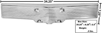 Picture of LICENSE PANEL FR 1962 : B244500 IMPALA 62-62