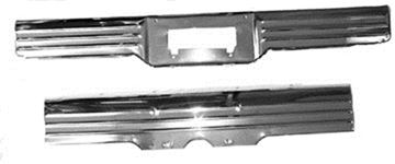 Picture of LICENSE PANEL REAR 1964 : B247000 IMPALA 64-64