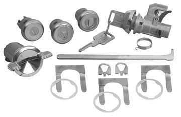 Picture of LOCK KIT : 337 IMPALA 69-70