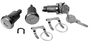 Picture of LOCK KIT DOOR AND IGNITION : 160A IMPALA 61-64