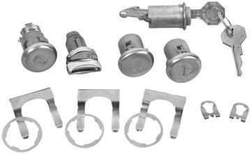 Picture of LOCK KIT ORIGINAL  1966 : 431 IMPALA 66-66
