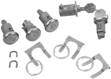 Picture of LOCK KIT ORIGINAL W/ LONG CYLINDER : 426 IMPALA 63-63
