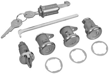 Picture of LOCK KIT ORIGINAL W/ SHORT CYLINDER : 429 IMPALA 64-64