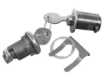 Picture of LOCK KIT TRUNK & GLOVEBOX ORIGINAL : 172A IMPALA 63-63