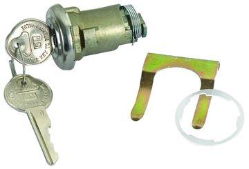 Picture of LOCK TRUNK ORIGINAL : 112AR IMPALA 53-58