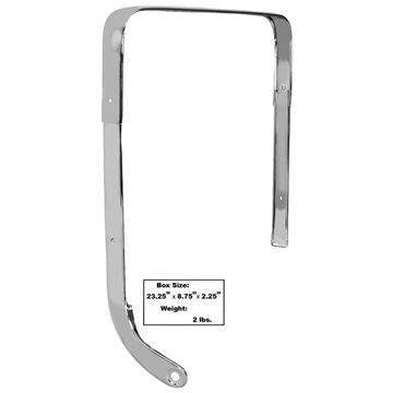 Picture of MOLDING BUCKET SEAT RH 1962-64 : M1709 IMPALA 62-64