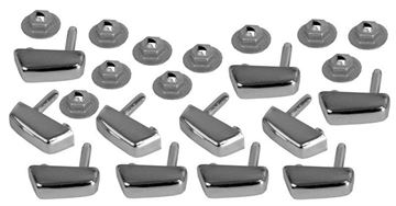 Picture of MOLDING FASTENERS GRILLE TOP 62 : M1719K IMPALA 62-62