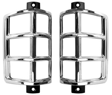 Picture of PARK LAMP BEZEL 67 PAIR : 1710N IMPALA 67-67