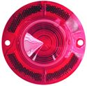 Picture of TAIL LAMP LENS 62 RED : 1710A IMPALA 62-62