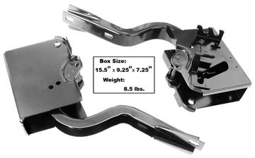 Picture of TRUNK LID HINGE 1960-64  PAIR : 1773 IMPALA 60-64