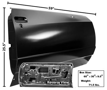 Picture of DOOR SHELL RH 81-85 : 1302 MONTECARLO 81-85