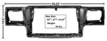Picture of RADIATOR SUPPORT 81-88 : 1331 MONTECARLO 81-88