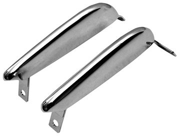 Picture of BUMPER GUARD FRONT 1966 PAIR : 3636A MUSTANG 64-66