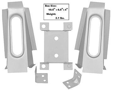 Picture of CONV BRACKET KIT FOR BODY SHELL : 65CVBRKT MUSTANG 65-66