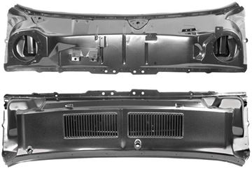Picture of COWL PANEL/GRILLE ASSEMBLY 1967-68 : 3648HWT MUSTANG 67-68