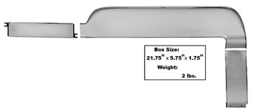 Picture of DASH TRIM 1967 3 PIECES DELUXE : 3625FA MUSTANG 67-67
