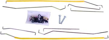 Picture of DOOR LATCH CONTROL ROD SET 69-70 : 3640ZB MUSTANG 69-70