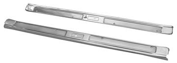 Picture of DOOR SCUFF PLATE 69-70 STAINLESS : M3652A MUSTANG 69-70