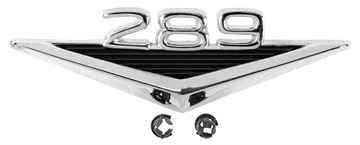 Picture of EMBLEM FENDER 289 64-65 : EM3620 MUSTANG 64-66