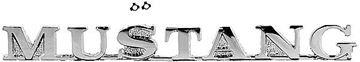 Picture of EMBLEM FENDER MUSTANG 64 1/2 : EM3650 MUSTANG 64-64