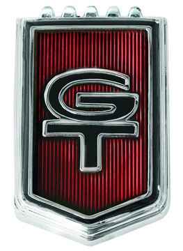 Picture of EMBLEM GT FENDER 65 : EM3630 MUSTANG 65-65