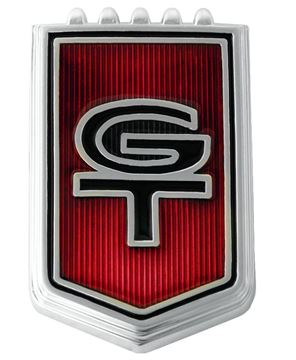 Picture of EMBLEM GT FENDER 66 : EM3631 MUSTANG 66-66