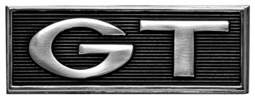 Picture of EMBLEM NAMEPLATE GT 68 : EM3643 MUSTANG 68-68