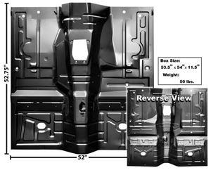 Picture of FLOOR PAN 1979-93 : 3648XA MUSTANG 79-93