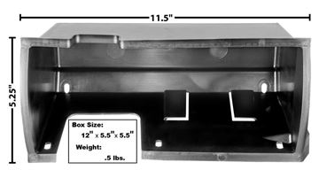 Picture of GLOVE BOX LINER 69-70 : 3617A MUSTANG 69-70